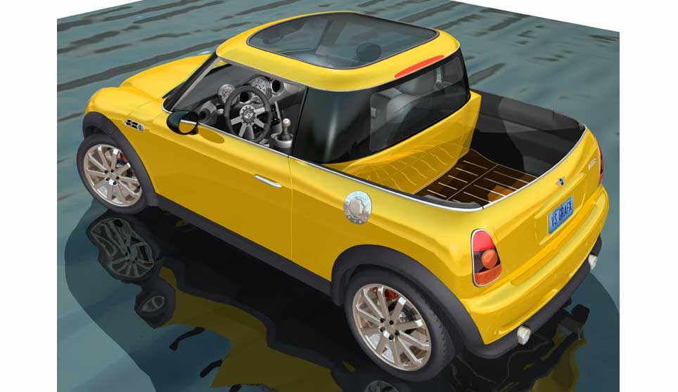 Luvtruckcom View Topic Mini Cooper Truck